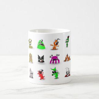 Monsters Full set Basic White Mug