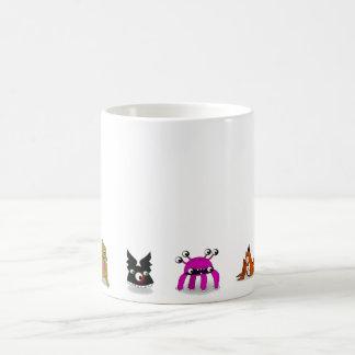 Monsters Set Number 4 Basic White Mug
