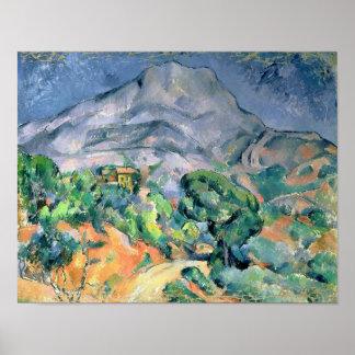 Mont Sainte-Victoire, 1900 Poster