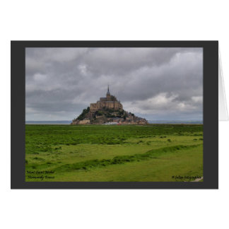 Mont St Michel Card