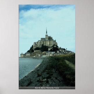 Mont St. Michel, Normandy, France Poster
