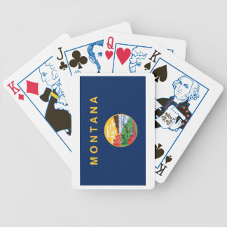 Montana State Flag Playing Cards