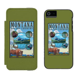Montana State Scenes Incipio Watson™ iPhone 5 Wallet Case
