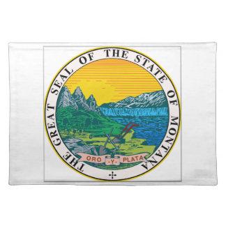 Montana State Seal Place Mat