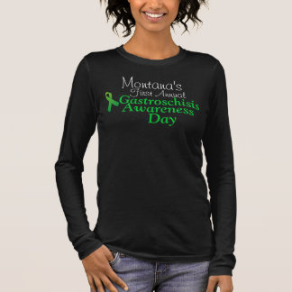 Montana's First Annual Gastroschisis Awareness Long Sleeve T-Shirt