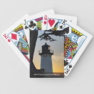 Montara Lighthouse playing cards