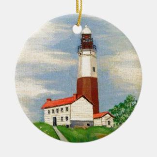 Montauk Lighthouse Christmas Ornament