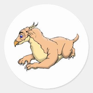 Montauk Monster Classic Round Sticker