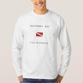 Monterey Bay California Scuba Dive Flag T-Shirt