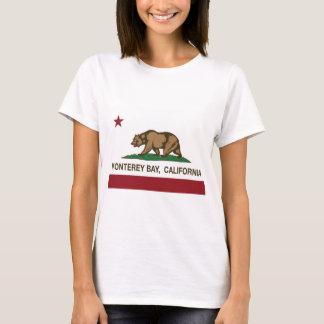 monterey bay california state flag T-Shirt