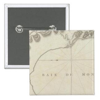 Monterey Bay Region, California 15 Cm Square Badge