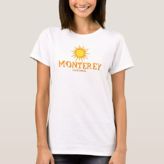 Monterey, California - Ladies Baby Doll (Fitted) T-Shirt