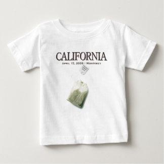 Monterey California Tea Party Baby T-Shirt