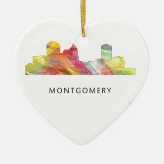 MONTGOMERY, ALABAMA SKYLINE WB1 - CHRISTMAS ORNAMENT