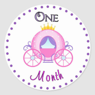 Monthly Baby Sticker Custom Personalized