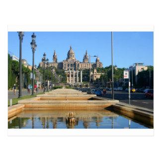 Montjuic, Barcelona, Spain Postcard