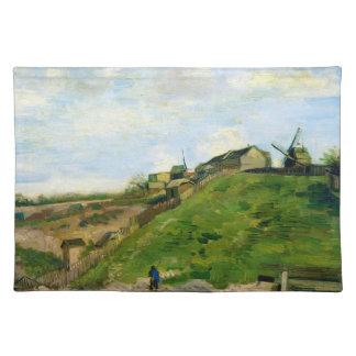 Montmartre Quarry Windmills Vincent Van Gogh Placemat