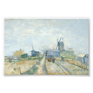 Montmartre: windmills and allotments art photo