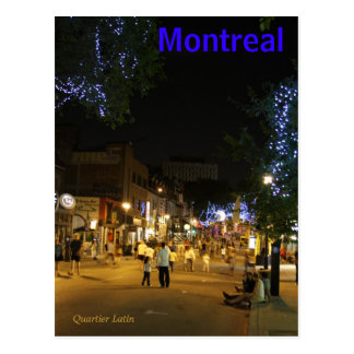 Montreal Canada Postcard