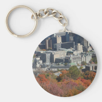 Montreal Fall Mountain View Keychain