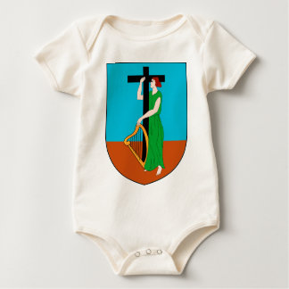 Montserrat Coat of Arms Baby Bodysuit