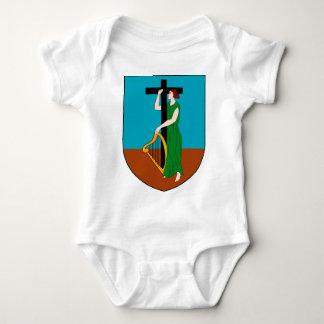 Montserrat Coat Of Arms Baby Bodysuit