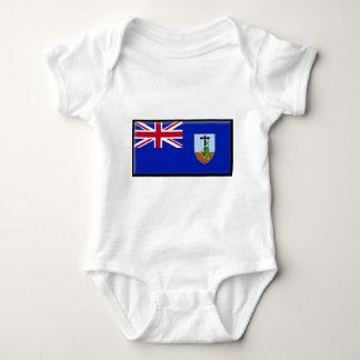 Montserrat Flag Baby Bodysuit