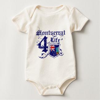 Montserrat for life baby bodysuit