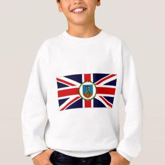 Montserrat Governor Flag Sweatshirt