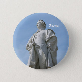 Monument of Johann Wolfgang von Goethe in Berlin 6 Cm Round Badge