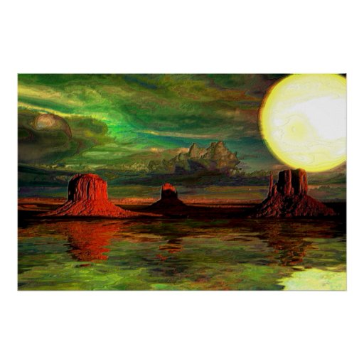 Monument Valley-1-Abstract Print