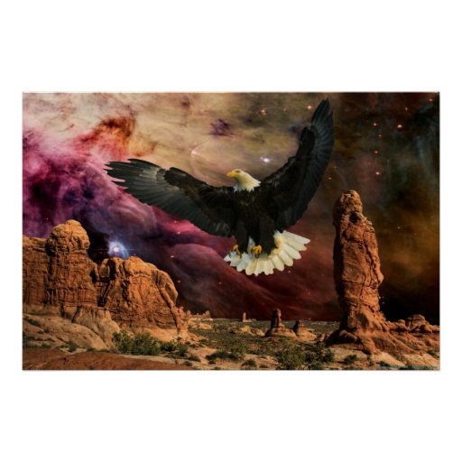 Monument Valley-4-W-Eagle Print
