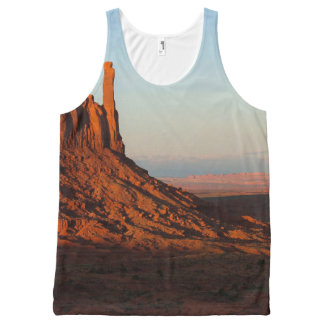 Monument valley,Colorado All-Over Print Singlet