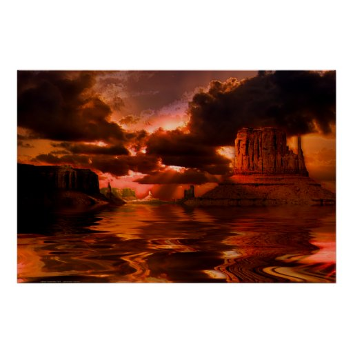 Monument-Valley-Sunrise-SET-3 Print
