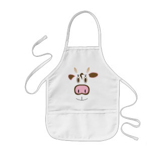 MOO! Cow Face Kids Apron