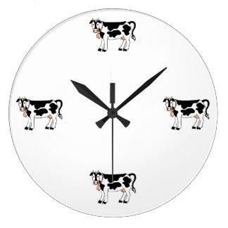 Moo Cows Large Clock