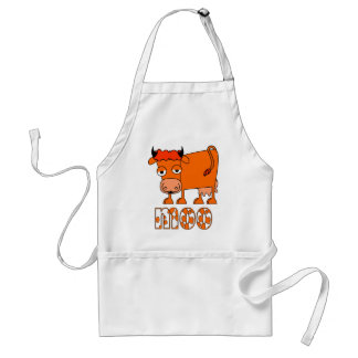 Moo - Ginger Cow - Apron