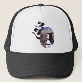 Mood Rising Sci-fi Ohm Trucker Hat