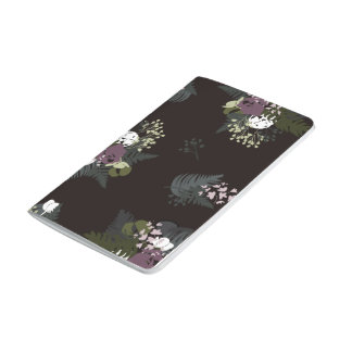 Moody Bouquet Pocket Notebook Journals
