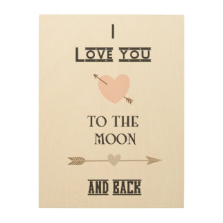 Moon and Back Wood Canvases