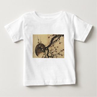 Moon and Flowers Baby T-Shirt