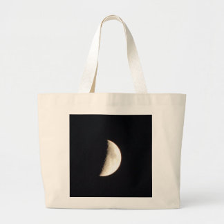 Moon At Night Large Tote Bag
