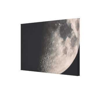 Moon Stretched Canvas Prints