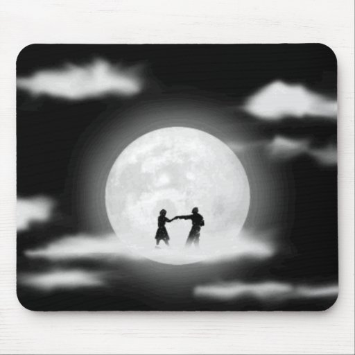 Moon Dancing! Mouse Pads