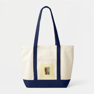 Moon Dog Tote Bag