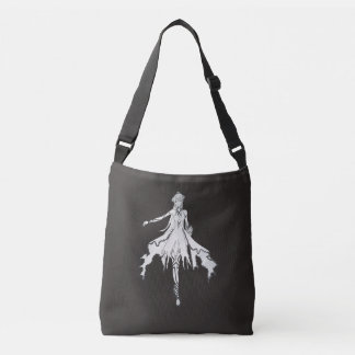 Moon Flower Crossbody Bag