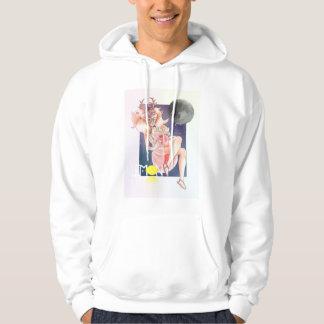 Moon girl hoodie
