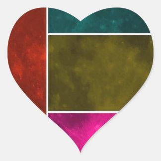 Moon Heart Sticker