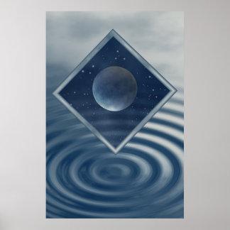 Moon is MAgic Print