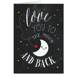 Moon Love Card
